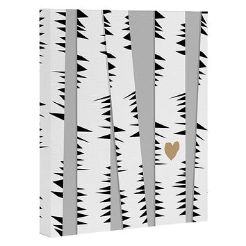 Allyson Johnson Birch Trees Art Canvas