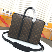 LV Louis Vuitton MONOGRAM CANVAS ePorte-Documents Jour BRIEFCASE BAG CROSS BODY BAG
