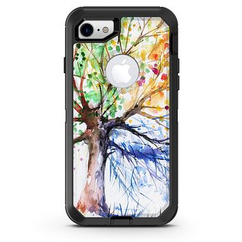 WaterColor Vivid Tree - iPhone 7 or 8 OtterBox Case & Skin Kits