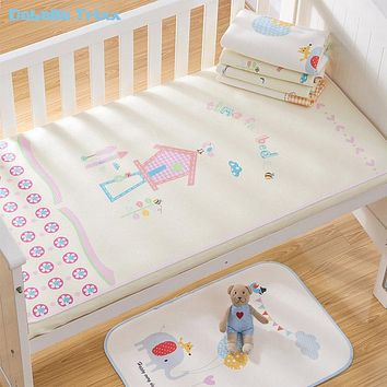 Daballa Trixx Waterproof Baby Changing Mat Baby Diapers Changing Pad Baby Sheet Cover Urine Mat Play Mat Infant Bedding 120x60cm