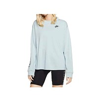 Nike Women's NSW Light Blue Air Top