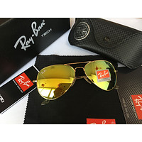 Ray Ban Fashion Sunglasses RB3025 Gold/Grass Green