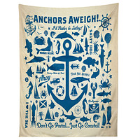 Anderson Design Group Anchors Aweigh Tapestry