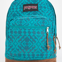 Jansport Right Pack Expressions Backpack Moonlit Teal Canvas Abstract Angles One Size For Women 26814524601