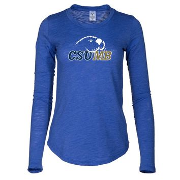 NCAA California State University, Monterey Bay Otters Women's Slub Tee