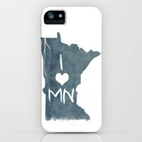 I LOVE MN iPhone Case by Michelle | Society6