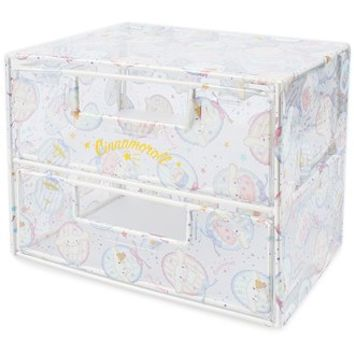 Cinamolol clear two steps mini-chest drawer ☆ Sanrio cool interior series ★ black cat DM service impossibility