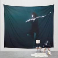 Dancing Under The Water Wall Tapestry by Nicklas Gustafsson