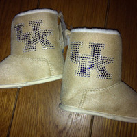 Infant / Toddler University of Kentucky Booties / by littleFanGarb