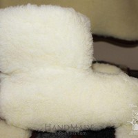 CHEN1ER Wool ugg slippers 'Clouds'