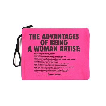 Advantages Of Being A Woman Artist Zip Pouch