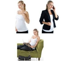 The Most Versatile Nursing Tank Top - Double Cream Nursing Tank with Built in Hands-free Pumping...