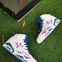 DCCK Air Jordan 6 Women Shoes Basketball Shoes
