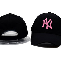 Rose NY Printed Sport Baseball Cap Hats