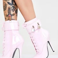 Fine Frenemy Lace Up Heels