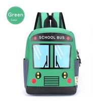 Boys bookbag trendy ASUQI Cute Cartoon Bus Toddler Backpacks School s for Kids Boys and Girls,Light Weight Preschool Childrens Bags to Kids AT_51_3