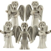 Doctor Who Character Building Weeping Angel Army Builder Pack