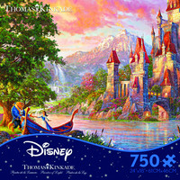 Ceaco Thomas Kinkade Disney Beauty and the Beast 2 - 750 Piece Puzzle