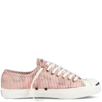 Converse - Jack Purcell Salt Wash Stripes - Low - Gooseberry