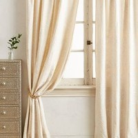 Embroidered Medina Curtain by Anthropologie