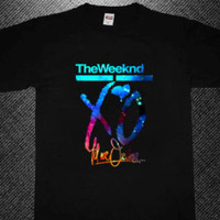 the weeknd xo till we overdose galaxy nebula t-shirt – Etsy