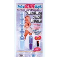 Ready 4 Action Vibrating Anal Beads - Lavender