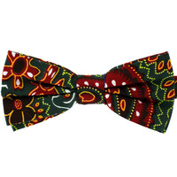 Tok Tok Designs Pre-Tied Bow Tie for Men & Teenagers (B404, African Wax Fabric)