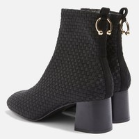 Weave Ring Ankle Boots | Topshop