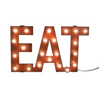 Eat Marquee Vintage-Style Sign