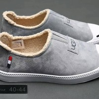 ugg men breathable fashion slip on loafer casual plate shoes