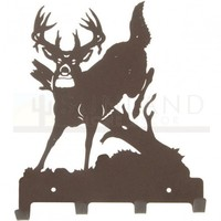 7in. Metal Wall Hooks - Jumping Buck
