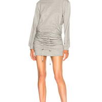 Y Project Corset Sweater Dress in Gris Chine | FWRD