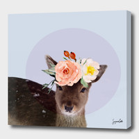 «oh deer 2» Canvas Print by Suzanne Carter - Numbered Edition from $59   Curioos