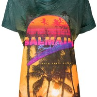 Paradise All-Over Print T-Shirt by Balmain
