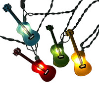 Kurt Adler UL 10-Light Guitar Light Set