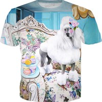ROTS French dog tshirt (AOP)