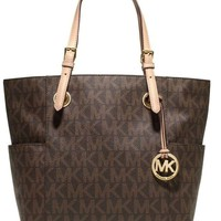 MK Stylish Women Letter Signature Handbag Shoulder Bag I