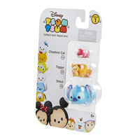 Cheshire Cat, Tigger, & Stitch Disney Tsum Tsum Series 1 Minifigure 3-Pack