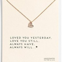 Fashion Heart Love Pendant Necklace Women Clavicle Chains Statement Necklace Girl Holiday Beach Jewelry