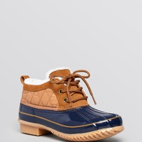 Khombu Waterproof Cold Weather Booties - Loon Quilted