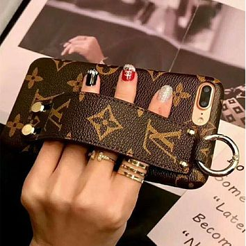 Louis Vuitton LV Popular Personality Cute iPhone Phone Cover Case For iphone X 6s 6plus 6s-plus 7 8plus