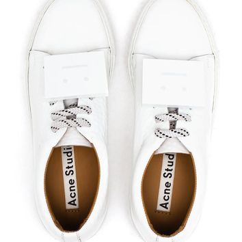 Adriana Smiley Face Trainers - ACNE STUDIOS