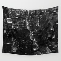 Night Lights Wall Tapestry by Brian Biles   Society6