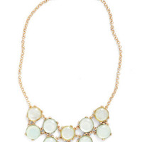 After Glimmer Mint Necklace