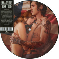 """Lana Del Rey - Born to Die 7"""" Picture Record"""