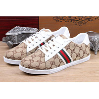 Gucci Women's GG Guccissima Leather Fashion Casual Sneakers Shoes