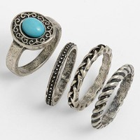 Carole Stackable Rings (Set of 4) | Nordstrom