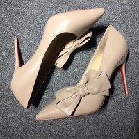 Christian Louboutin Cl Pumps High Heels Reference #02bk64 - Best Deal Online
