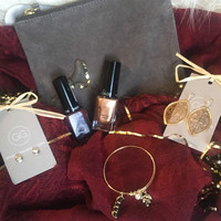 Holiday Box #2 Burgundy