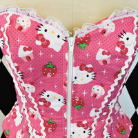 Hello Kitty Fashion Corset